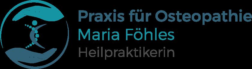 Praxis für Osteopathie · Maria Föhles · Heilpraktikerin